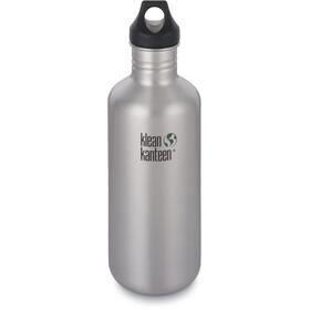 Klean Kanteen Classic Bottle Loop Cap 1182ml, brushed stainless